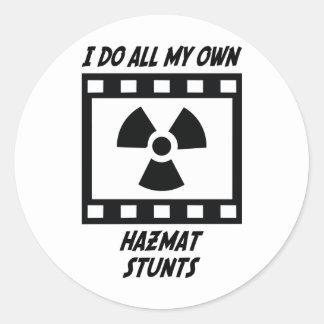 Hazmat Stunts Sticker