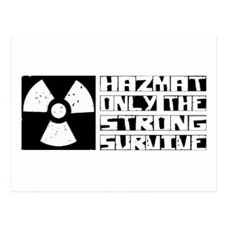 Hazmat Survive Postcard