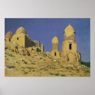 Hazreti Shakh-i-Zindeh Mausoleum Print