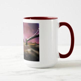 Hazy citynites art mug
