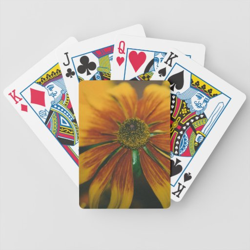 Hazy Daisy Bicycle Playing Cards