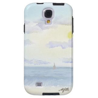 Hazy Day At The Beach Samsung Galaxy S4 Tough Case