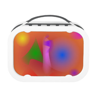 Hazy Harmony of Contrasting Colors Lunch Boxes