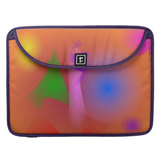 Hazy Harmony of Contrasting Colors Sleeves For MacBook Pro
