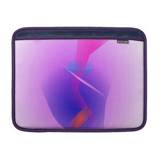 Hazy Light Purple Toy Abstract Sleeve For MacBook Air
