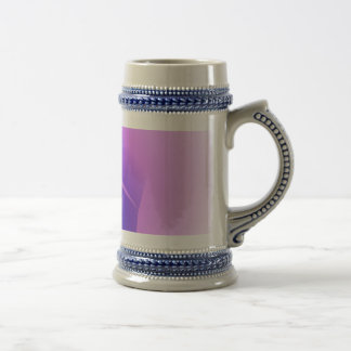 Hazy Light Purple Toy Abstract Mugs