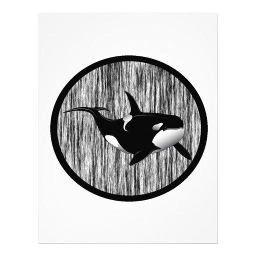 HAZY MORNING ORCA CUSTOM LETTERHEAD