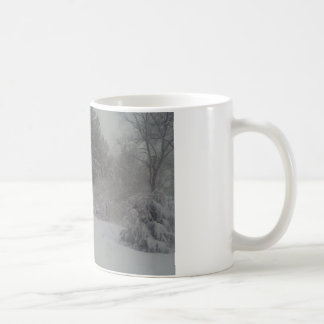 Hazy shade of winter coffee mug