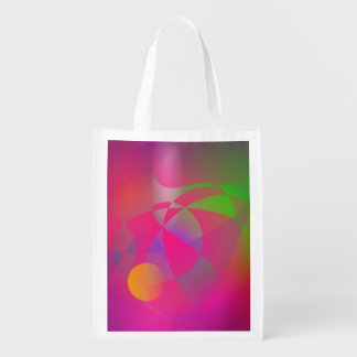 Hazy Space Pink Reusable Grocery Bags