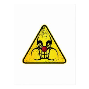 Hazzard Clown Postcard