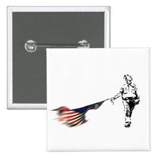 Hazzard profesional pin cuadrada 5 cm