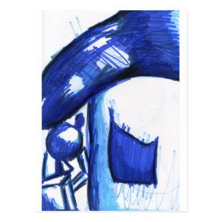 HB azul de Haus BH Tarjeta Postal