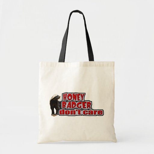 HB Don't  Care -Chiselled Budget Tote Bag