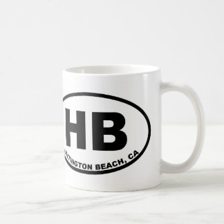 HB Huntington Beach Coffee Mug