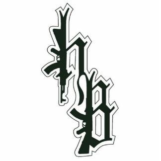 HB logo pin Cutout