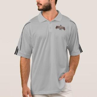 HB Roughneck Mens Fan Long Sleeve Polo Shirt