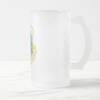HB SAC FROSTED GLASS BEER MUG