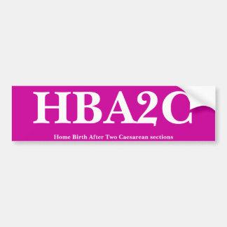 HBA2C PEGATINA PARA AUTO