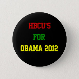 HBCU's For Obama Pinback Button