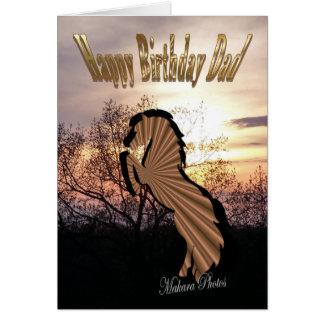 HBD Dad -customize Greeting Card