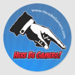 HBG Supporter Stickers