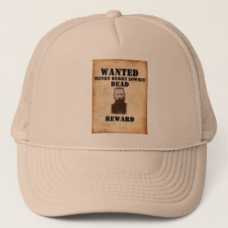 HBL - Baseball Cap with WANTED:DEAD Poster