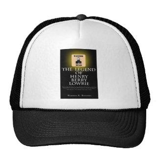 HBL - Gorra de béisbol negra con la portada del