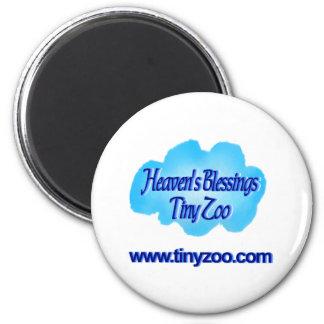 HBTZ_cloud_URL_transp Fridge Magnet