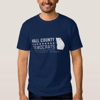 HCD: El condado de Hall Demócratas (2 echados a un Remera