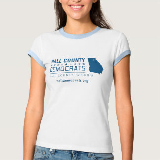 HCD: El condado de Hall Demócratas Playera