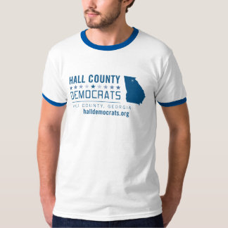HCD: El condado de Hall Demócratas Playeras