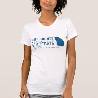 HCD: El condado de Hall Demócratas Remeras