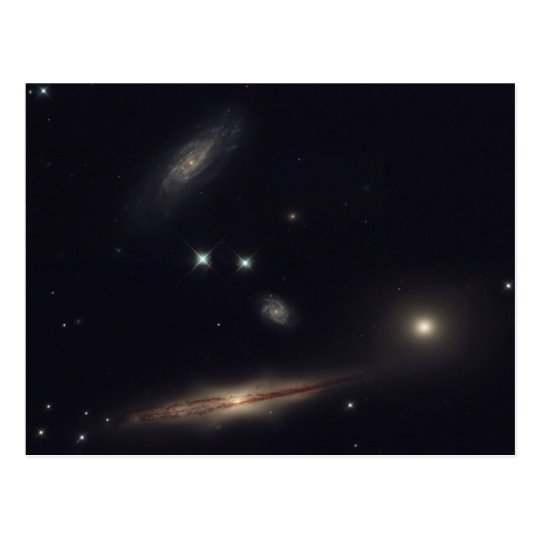 HCG 87 - A Small Group of Galaxies Postcard