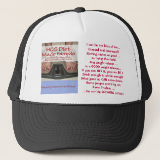 HCG Diet Made Simple Hat