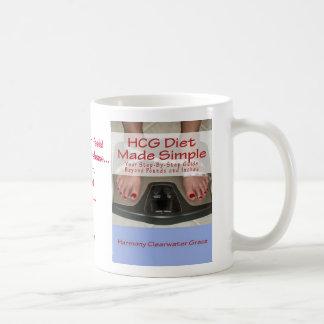 HCG Diet Made Simple Plain Mug