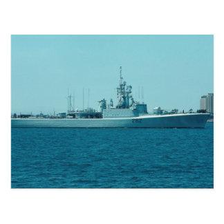 "HCMS Saskatchewan"", acompañamiento de destructor Tarjetas Postales"