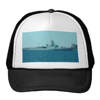 """HCMS Saskatchewan"""", Canadian Navy destroyer escort Trucker Hat"""