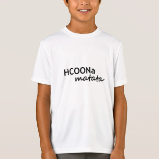 HCOONa Matata Don't Worry Be Happy African Chemist T-Shirt