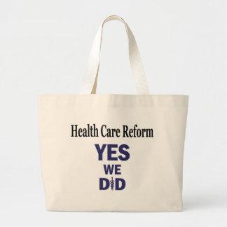 HCR - Yes We Did! Tote Bag