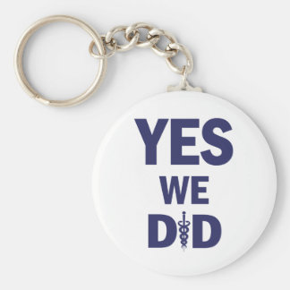 HCR - Yes We Did! Keychain