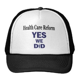 HCR - Yes We Did! Trucker Hat