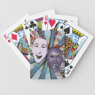 HD Carnival Masks Playing Cards