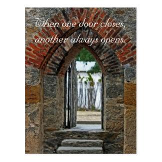 HD Doorway Postcard