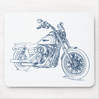 HD FXDB DynaStreetBob 2009+ Mouse Pad