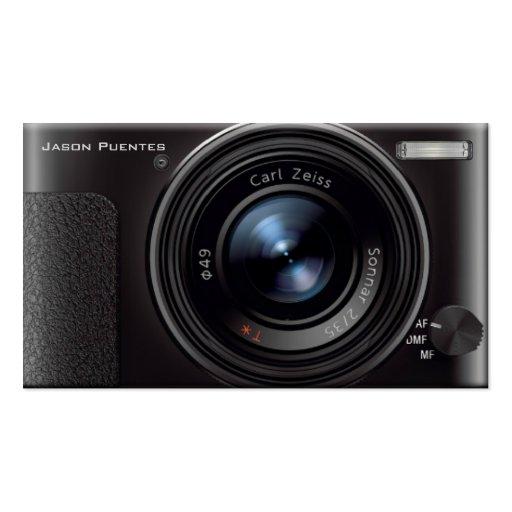 HD Lens Digital Camera grapher Business Card