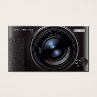 HD Lens Digital Camera Photographer Business Card