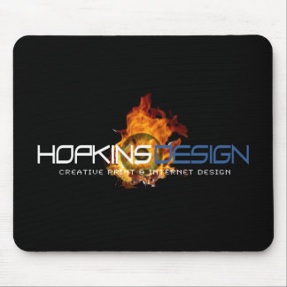 HD Logo Flames Mouse Pad
