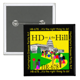 HD on the Hill Button