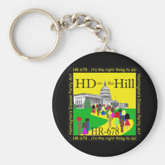 HD on the Hill Keychain