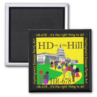 HD on the Hill Magnet